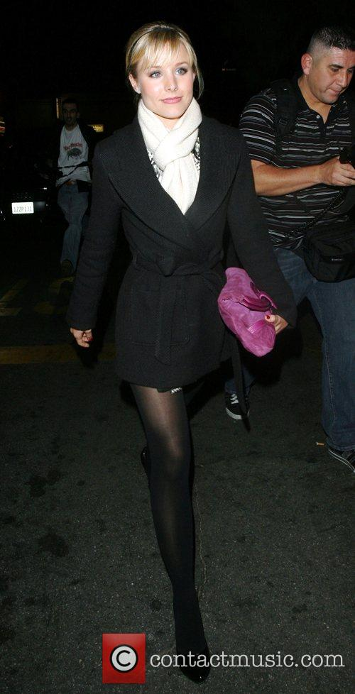 Leaving Les Deux night club in Hollywood after...