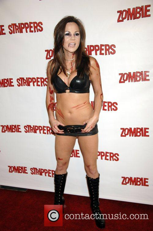 L.A. Premiere of 'Zombie Strippers' held at The...