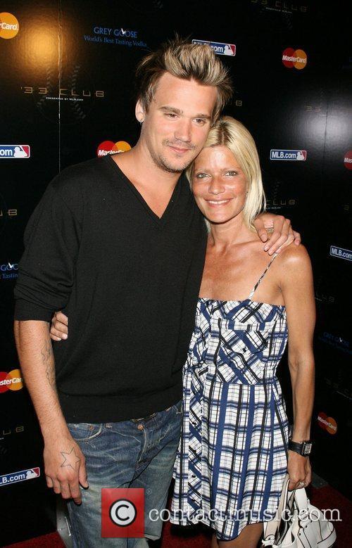Sean Stewart and Lizzy Grubman 33 Club Party...