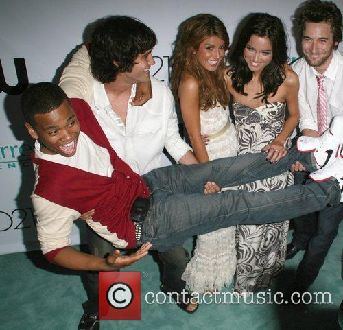 CW Network 90210 premiere party held at 22600...