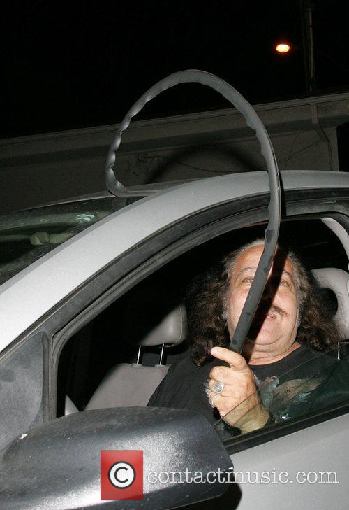 Ron Jeremy  is mocked by the paparazzi...
