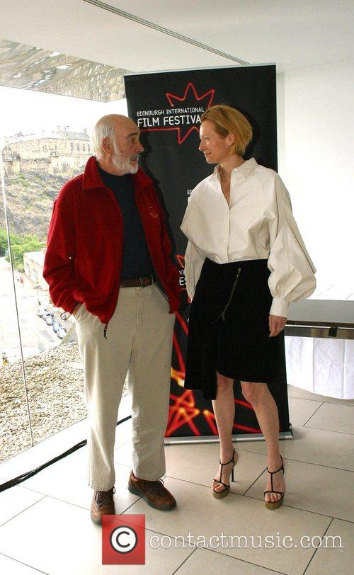 Sean Connery and Tilda Swinton 9