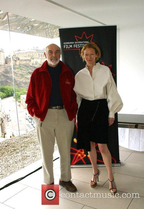 Sean Connery and Tilda Swinton 2