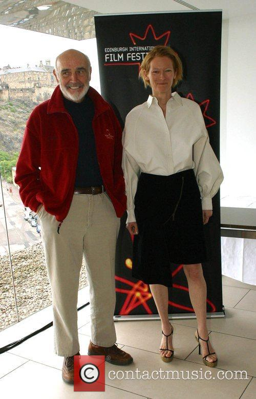 Sean Connery and Tilda Swinton 1