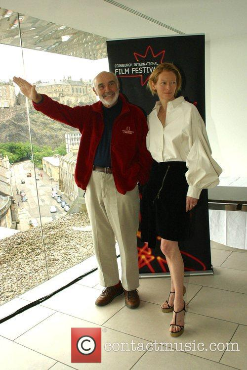 Sean Connery and Tilda Swinton 7