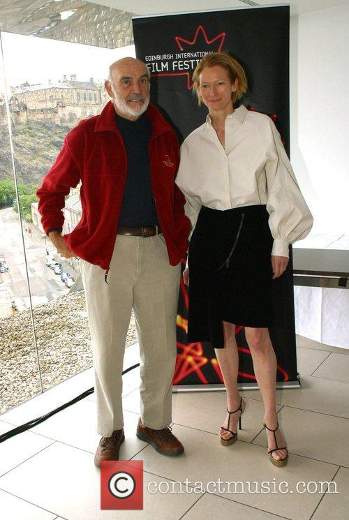 Sean Connery and Tilda Swinton 6