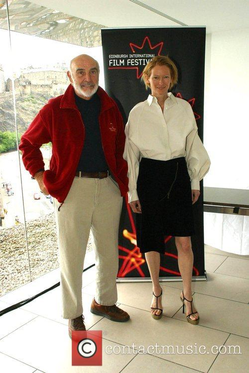 Sean Connery and Tilda Swinton 8