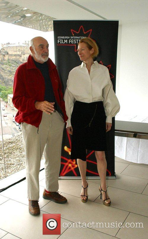 Sean Connery and Tilda Swinton 4