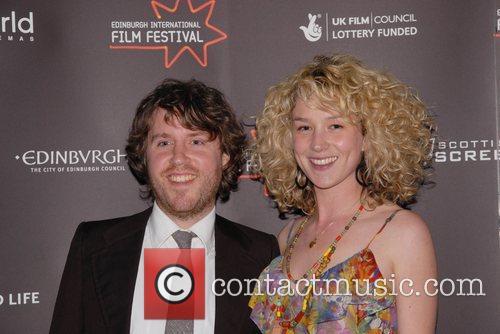 Beth Rowley (r) and guest Edinburgh Film Festival...