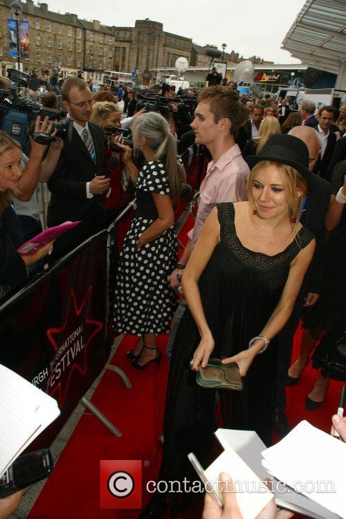 Sienna Miller Edinburgh Film Festival - Day 1...