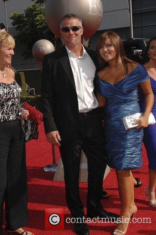 Brett Favre and Guest The 2008 ESPY Awards...