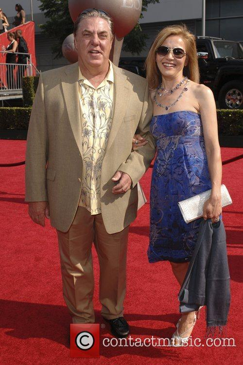 Bruce McGill and wife The 2008 ESPY Awards...