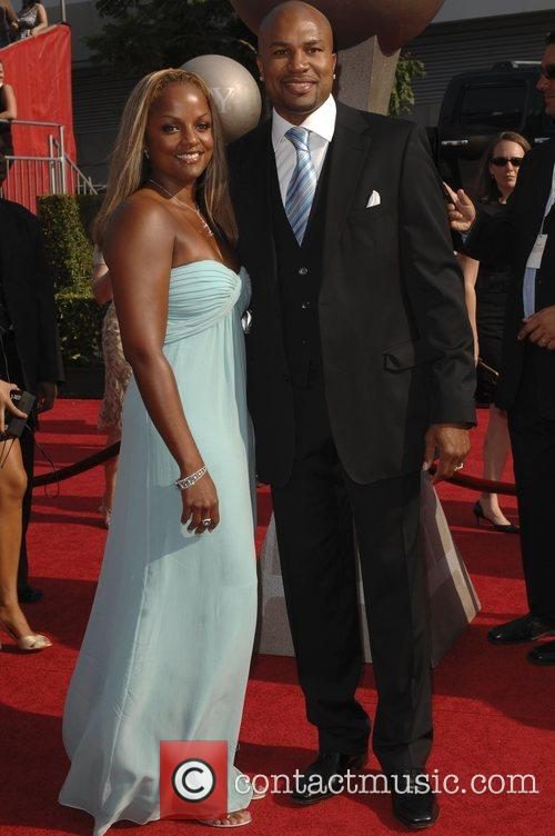 Derek Fisher and wife The 2008 ESPY Awards...