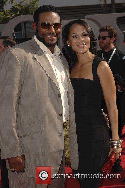 Jerome Bettis and Guest The 2008 ESPY Awards...