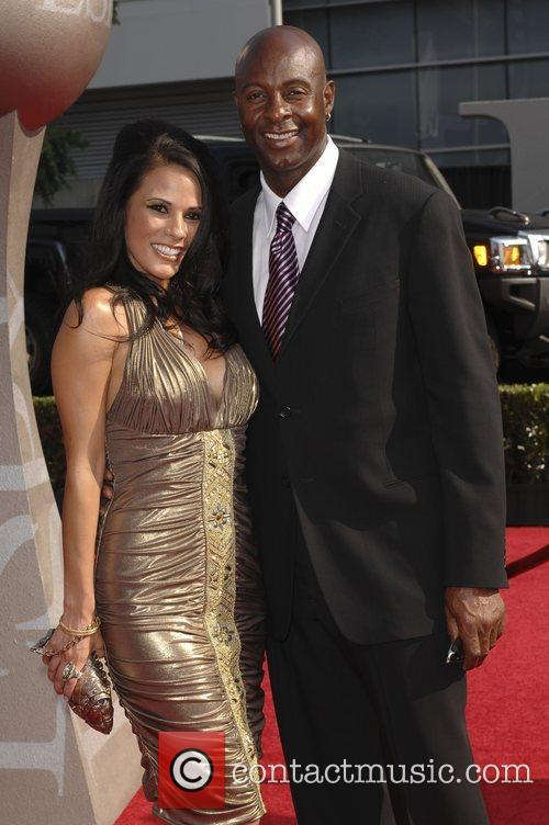 Jerry Rice and Bonnie Jill Laflin The 2008...