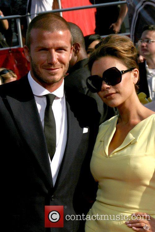 David Beckham and Victoria Beckham The 2008 ESPY...