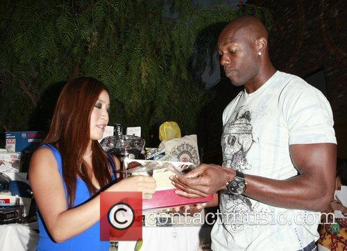 Michelle Kwan and Terrell Owens The 2008 ESPYs...