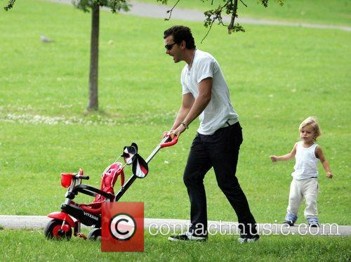 Gavin Rossdale and His Son Kingston 1