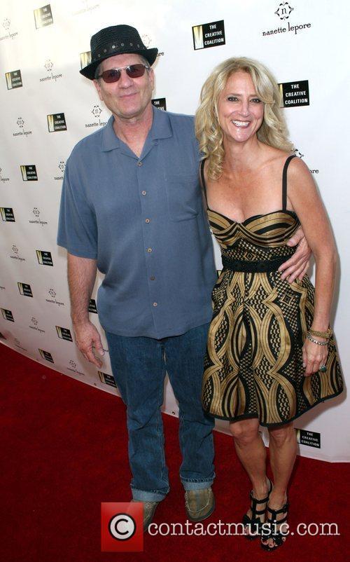 Ed O'Neil and Nanette Lepore, Fashion Designer Nanette...