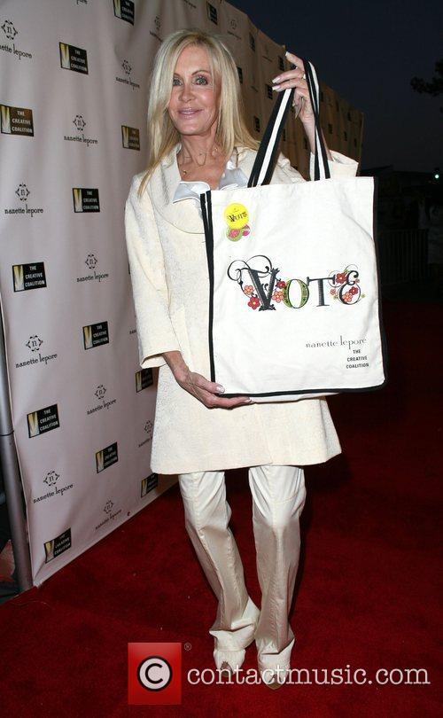Joan Van Ark, Fashion Designer Nanette Lepore, hosts...