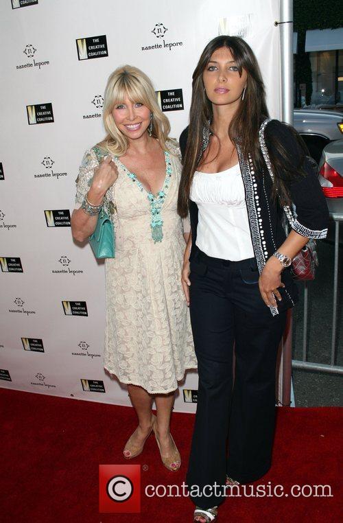 Lisa Gastineau and daughter Brittny Gastineau, Fashion Designer...