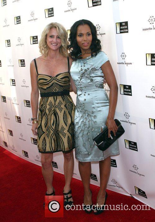 Nanette Lepore and Kerry Washington Fashion Designer Nanette...
