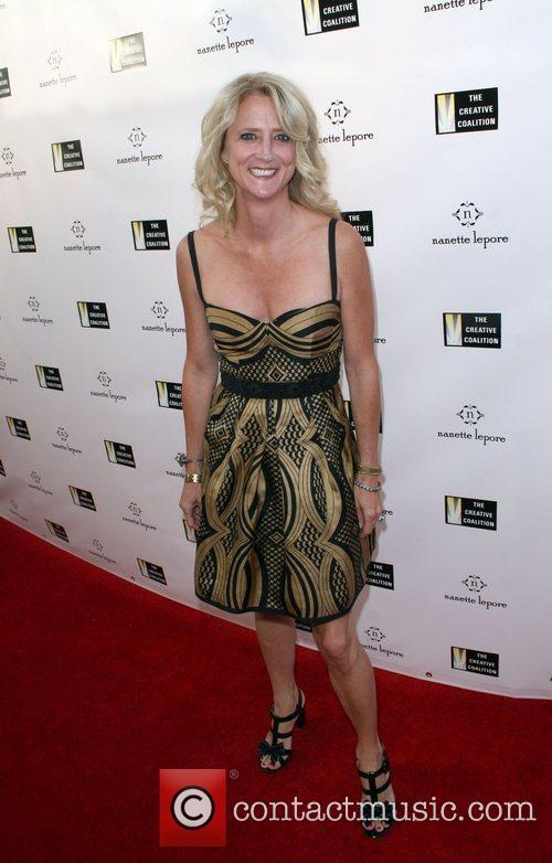Nanette Lepore Fashion Designer Nanette Lepore, hosts Fashion...