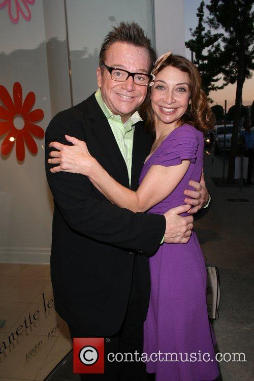 Tom Arnold and Illeana Douglas, Fashion Designer Nanette...