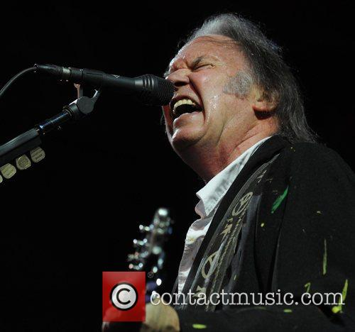 Neil Young at Rosklide festival - Day Three...