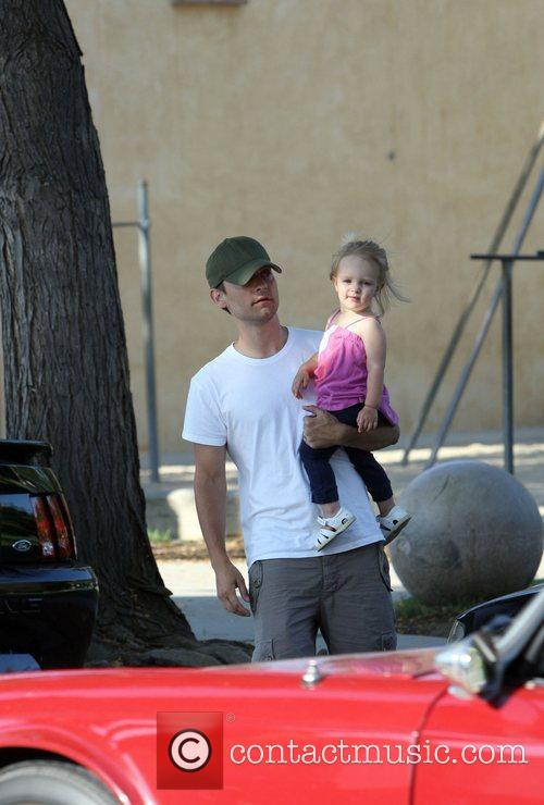 Tobey Maguire and his daughter Ruby Maguire Tobey...