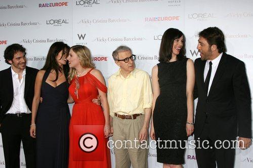Chris Messina, Penelope Cruz, Scarlett Johansson and Woody Allen