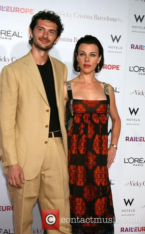 Debi Mazar and guest arriving at the LA...