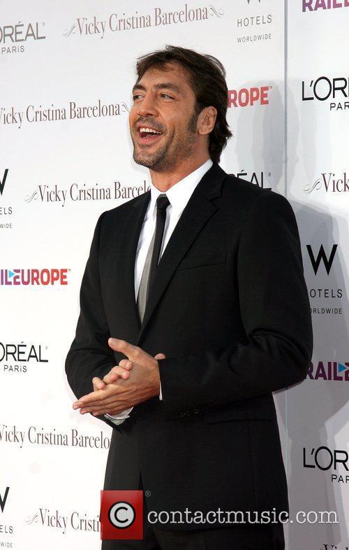 Javier Bardem arriving at the LA Premiere of...