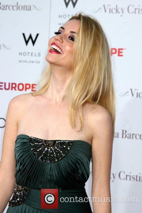 Masiela Lusha arriving at the LA Premiere of...