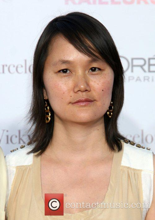 Soon-Yi Previn arriving at the LA Premiere of...