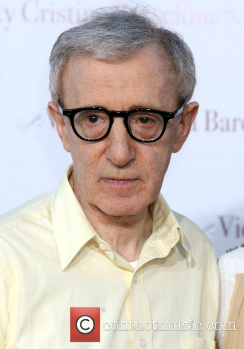 Woody Allen arriving at the LA Premiere of...