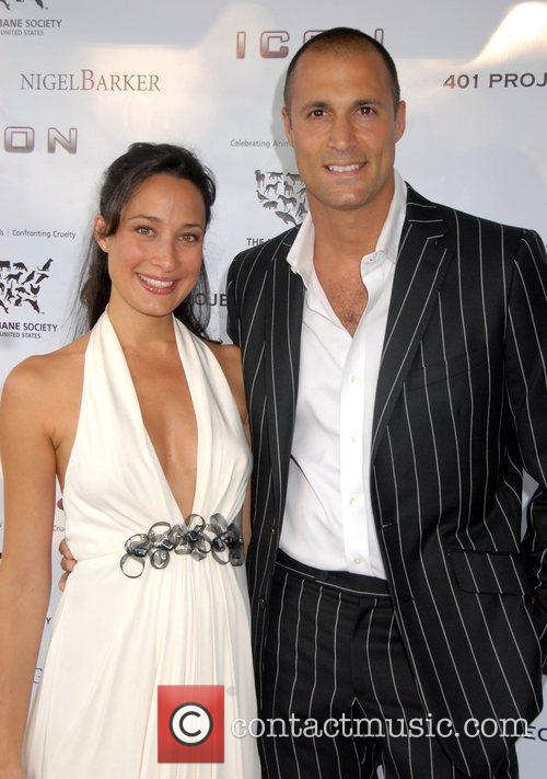 Nigel Barker and his wife Cristen Barker A...
