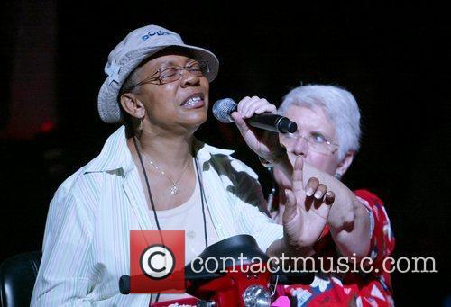 AARP attendees at Maya Angelou and Quincy Jones...