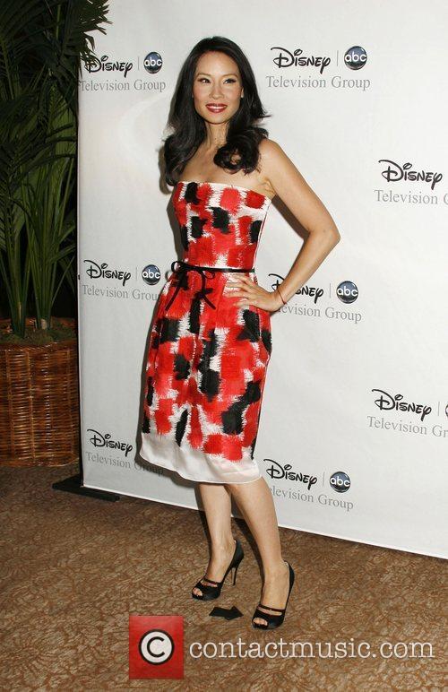Lucy Liu, ABC, Beverly Hilton Hotel