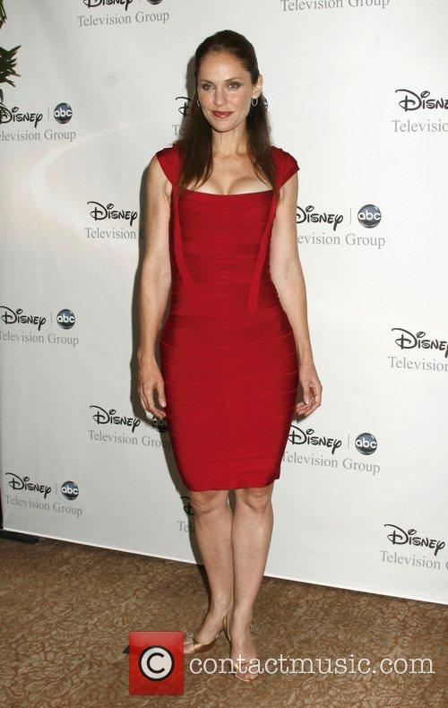 Amy Brenneman, ABC, Beverly Hilton Hotel