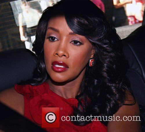 Vivica A. Fox leaving ABC Studios after appearing...