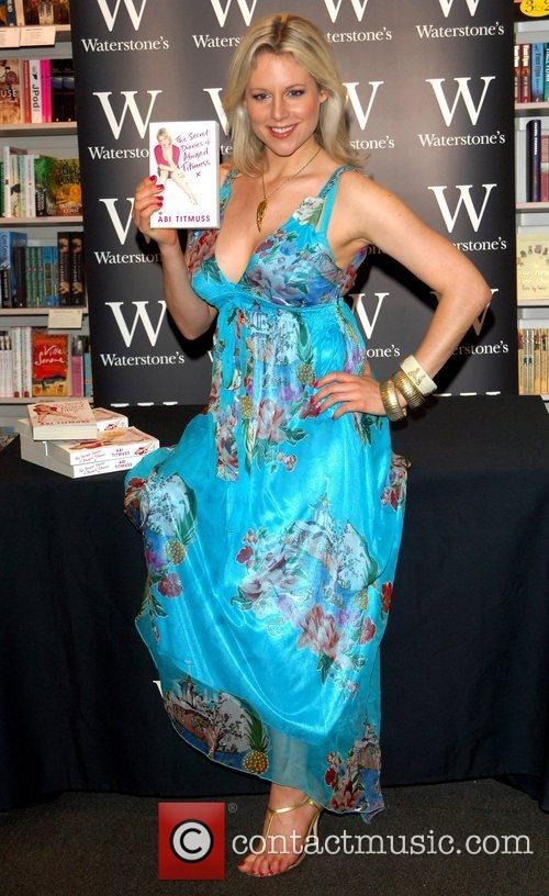 Abi Titmuss signs copies of her book 'The...