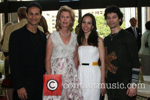 J. Pepe Fanjul, Tara Milne, and guests American...