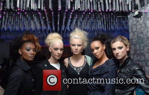 Action Aid UK charity fashion show held at...
