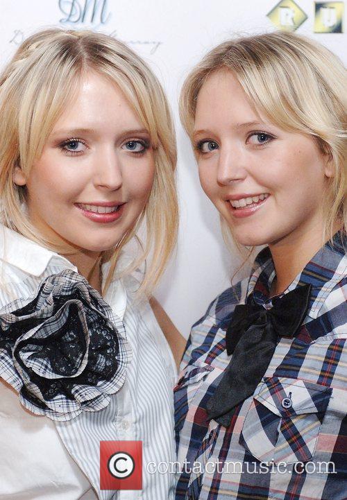Samantha Marchant and Amanda Marchant Action Aid UK...