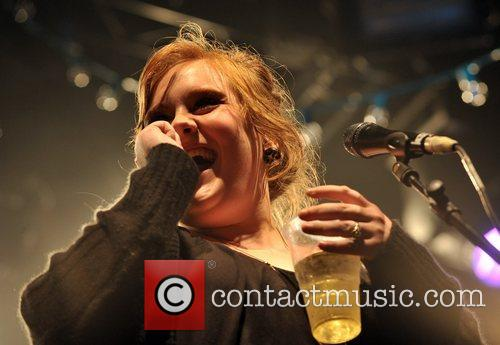 Adele performs live during the Somerset House Series...