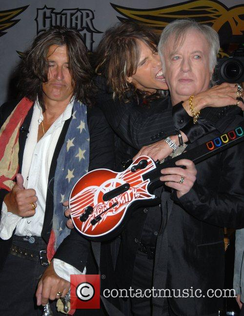 Steven Tyler, Aerosmith and Joe Perry 5