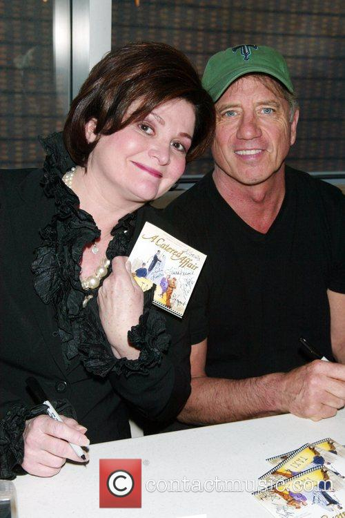 Faith Prince and Tom Wopat  CD signing...