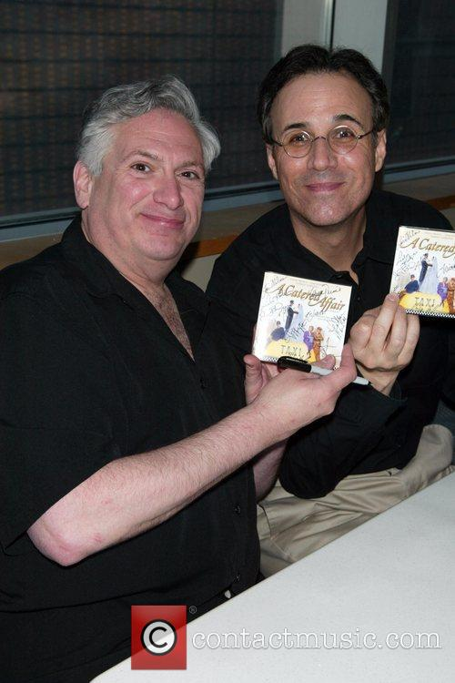 Harvey Fierstein and John Bucchino  CD signing...