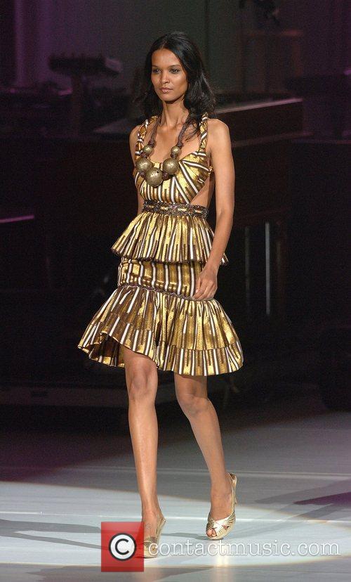 Model Liya Kebede The THISDAY Africa Rising Concert...
